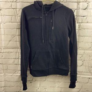 Baubax hoodie with thumb hole sleeves